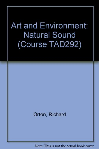 9780335062027: Art and Environment: Natural Sound Unit 3 (Course TAD292)