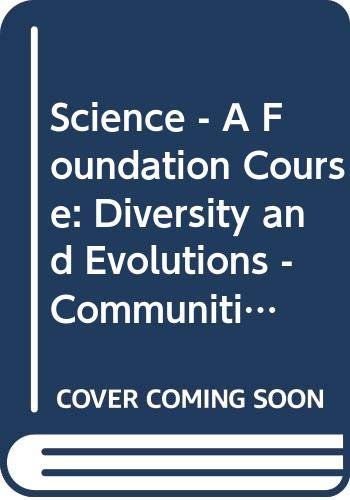 9780335080670: Science - A Foundation Course: Diversity and Evolutions - Communities of Organisms Unit 20-21 (Course S101)