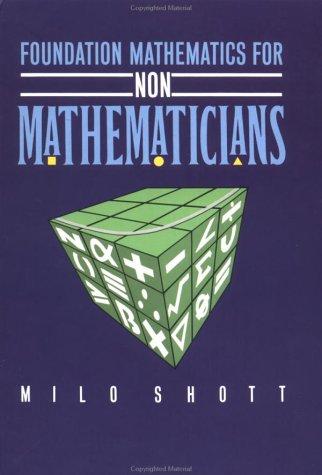 9780335092130: Foundation Mathematics for Non-Mathematicians