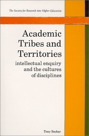 9780335092208: Academic Tribes & Territories (Society for Research into Higher Education)