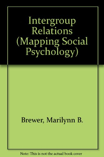 9780335092611: Intergroup Relations (Mapping Social Psychology Series)