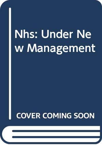 NHS under New Management: Amanda Robinson; Strong