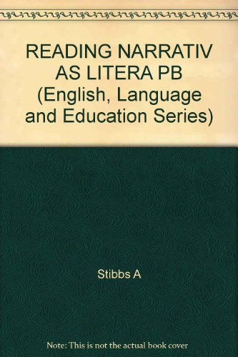 9780335094196: READING NARRATIV AS LITERA PB (English, Language and Education Series)