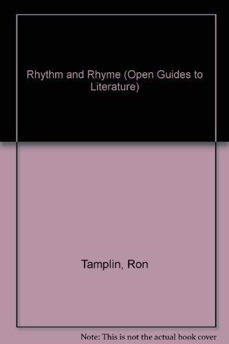 RHYTHM & RHYME CL (Open Guides to Literature): Tauplin R