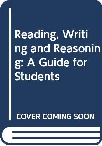 9780335095964: Reading Writing & Reason See 2/Ed