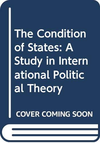 9780335096688: The Condition of States: A Study in International Political Theory