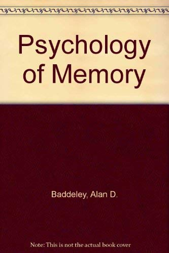 9780335098064: Psychology of Memory