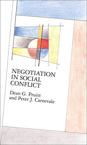 9780335098651: Negotiation in Social Conflict (Mapping Social Psychology)