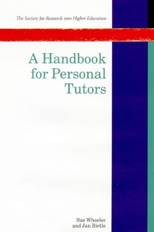9780335099542: A Handbook for Personal Tutors (Society for Research into Higher Education)