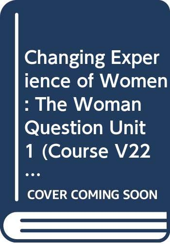 9780335103010: The Changing Experience of Women