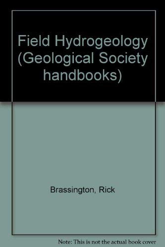 9780335152025: Field Hydrogeology (Geological Society handbooks)