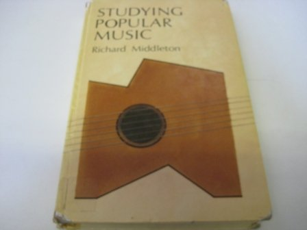 9780335152766: STUDYING POPULAR MUSIC CL