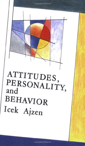 9780335153428: Attitudes, Personality and Behaviour (Mapping Social Psychology)