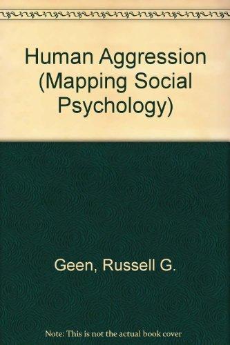 9780335153459: Human Aggression (Mapping Social Psychology)