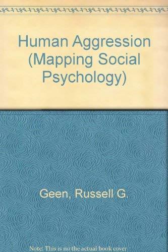 9780335153466: Human Aggression (Mapping Social Psychology)