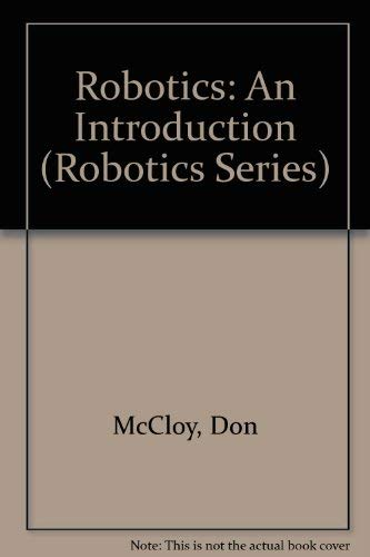 9780335154012: Robotics: An Introduction (Robotics Series)