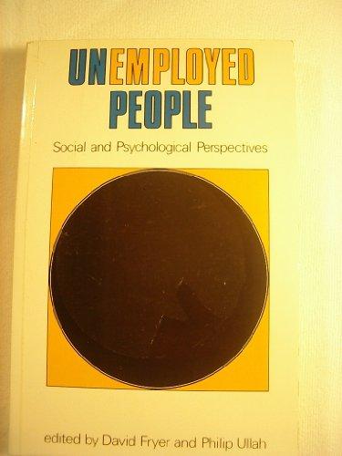 9780335155064: Unemployed People