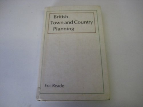 9780335155095: BRITISH TOWN AND COUNTRY PLANNING