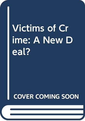 9780335155668: VICTIMS OF CRIME: A New Deal?