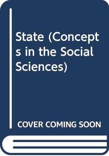 9780335155750: The State (Concepts in the Social Sciences)