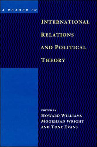 9780335156672: Reader in International Relations and Political Theory
