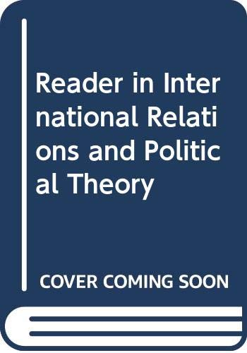 9780335156689: Reader in International Relations and Political Theory