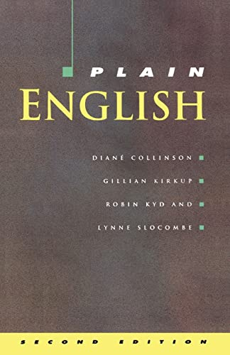 9780335156757: PLAIN ENGLISH (Collinson)