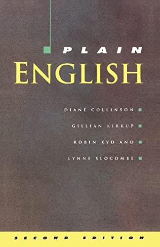 9780335156757: Plain English