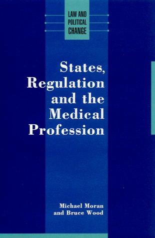 9780335157488: STATE REGULATN MEDIC PROFES PB (Law and Political Change)