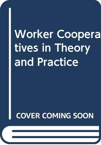 9780335158621: Worker Cooperatives in Theory and Practice