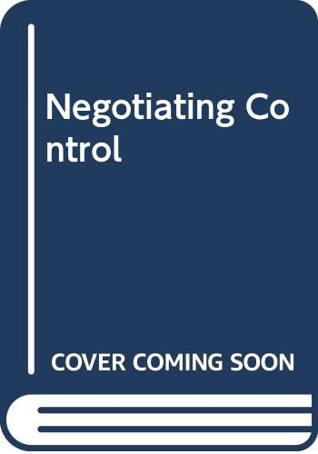 9780335158669: Negotiating Control: A Study of News Sources