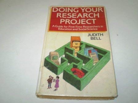 9780335159888: Doing Your Research Project
