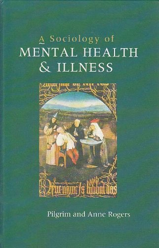 a sociology of mental health and illness pdf