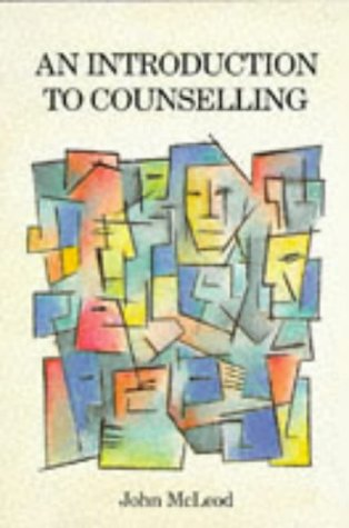 INTRO TO COUNSELLING PB: Mcleod J A