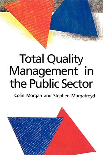 9780335191024: Total Quality Management in the Public Sector