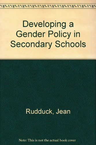 9780335191536: Developing a Gender Policy in Secondary Schools