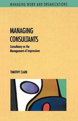9780335192199: Managing Consultants (Rethinking Reading)