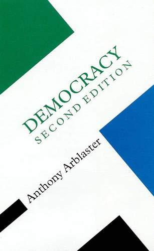 9780335192991: Democracy (Concepts in the Social Sciences)