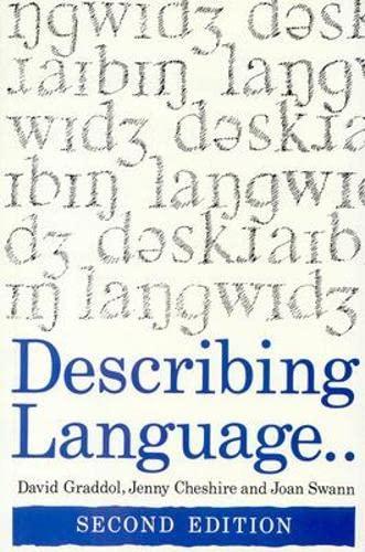 9780335193158: Describing Language
