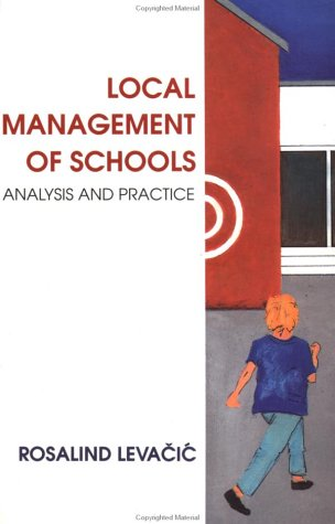 9780335193769: Local Management of Schools: Analysis and Practice