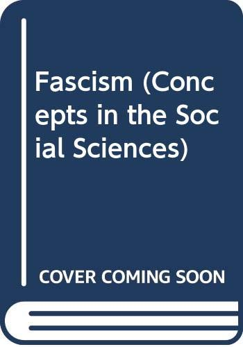 9780335194889: Fascism (Concepts in the Social Sciences)