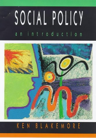 9780335194940: Introduction to Social Policy: An Introduction
