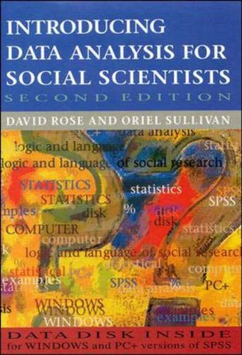 9780335196173: Introducing Data Analysis For Social Scientists
