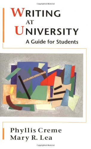9780335196425: Writing at University: A Guide for Students