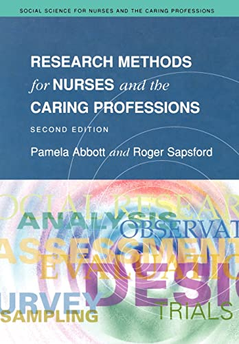 9780335196975: Research Methods For Nurses And The Caring Professions 2/E (Social Science for Nurses and the Caring Professions)