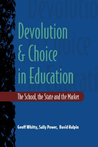 9780335197118: Devolution And Choice In Education