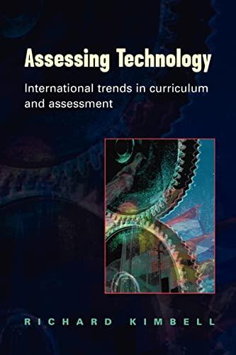 Assessing Technology: Kimbell, Richard