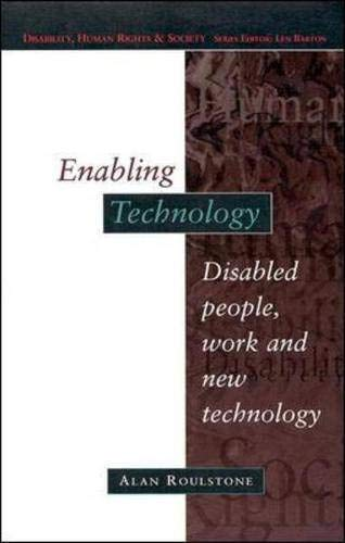 9780335198016: Enabling Technology (Disability, Human Rights, and Society)