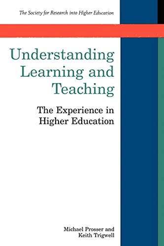 9780335198313: Understanding Learning and Teaching (Society for Research Into Higher Education S)