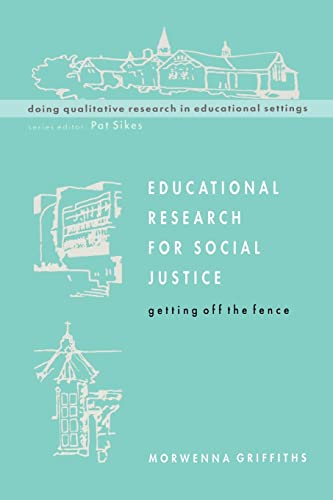 9780335198597: Educational Research For Socail Justice (Doing Qualitative Research in Educational Settings)